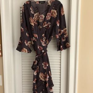 Beautiful wrap floral dress